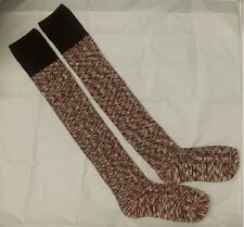 Ladies The Knee Stained with Gradient Cotton Socks Long Over- Attractive Designs