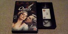 QUILLS BIG BOX FOX UK VHS PAL VIDEO 2001 Geoffrey Rush Kate Winslet Sexy Erotic