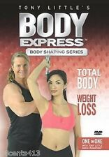 Tony Little's Body Express: Body Shaping Series Total Body (Region Free DVD)
