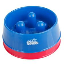 New Comtrol Bowl Slow Feed Dish Stop Brake Dog Cat Pet Eating Food Too Fast