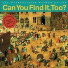 Can You Find It, Too?: Search and Discover More Than 150 Details in 20 Works of