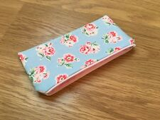 Fabric Pencil / Make Up / Glasses Case Made Using Cath Kidston Blue Ashdown Rose