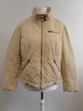 ELLOS glossy padded jacket plain light Beige UK 26 RRP £55.00 Box1213 p
