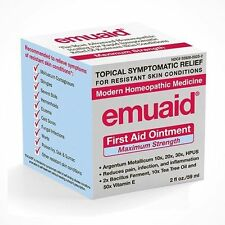 Emuaid MAX Homeopathic First Aid Ointment 2oz New Free Shipping!!!