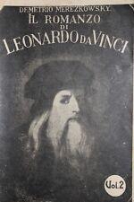 IL ROMANZO DI LEONARDO DA VINCI - MEREZKOWSKY