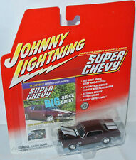 Super Chevy - 1970 CHEVY CHEVELLE SS - maroon - 1:64 Johnny Lightning