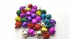 100 Pezzi 6mm casuali metallo misto JINGLE BELLS-a8179