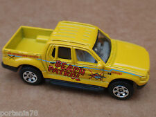 Matchbox FORD EXPLORER SPORT TRUCK from 10 Pack LOOSE Yellow BEACH PATROL