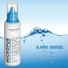 Micropur Classic MC1.000F Wasserkonservierung  Haltbar Wasser Trinkwasser Silber