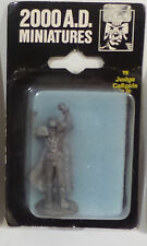 JUDGE DREDD : 2000 AD MINIATURES JUDGE CALIGULA METAL MINIATURE FIGURE (TK)