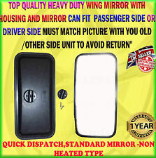 FITS ISUZU TRUCK MIRROR NKR / NPR / NQR / NHR LEFT & RIGHT NON HEATED MIRROR X1