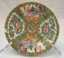 """antique 1850's Rose Medallion China 7"""" plate (5 available)"""
