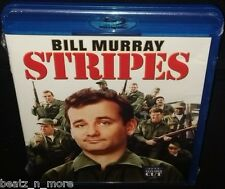 STRIPES (2012 RELEASE) BRAND NEW SEALED REGION FREE BLURAY BILL MURRAY