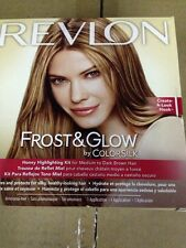 Revlon Frost & Glow Honey Highlighting Kit For Medium to Dark Brown Hair