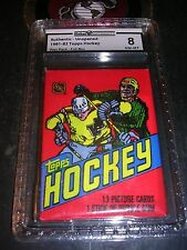 1981-82 Topps Hockey Wax Pack GAI 8