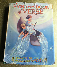 The Child's book of Verse with 16 colour plates by Margaret Tarrant Hardback