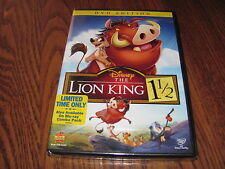 Disney The Lion King 1 1/2 Matthew Broderick (DVD,2012,Special Edition,Rare,OOP