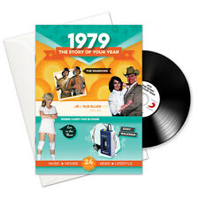 1979 38th Birthday or Anniversary Gift Card 1979 Retro CD Book Greetings Cards