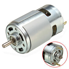 12V-36V 3500-9000RPM 775 DC Motor Front Ball Bearing Large Torque Low Noise