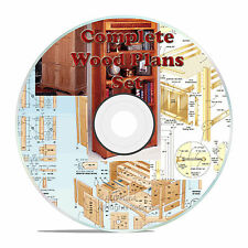 ALL OUR WOOD PLANS, 1 DVD, HOBBY, OUTDOOR, CUSTOM FURNITURE PLANS