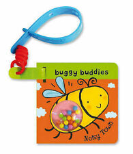 Rattle Buggy Buddies Noisy Town BRAND NEW BOOK by Pan Macmillan (Board book 2009