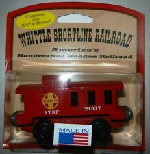 Wooden Train Santa Fe ATSF 2007 Caboose Compatible with all Railroads Mint