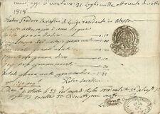 Regno delle Due Sicilie Vendita di Terreno in Atessa 1817