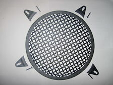"15"" subwoofer box speaker grill, sq trous avec fitings (british made) unique"
