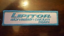 LIPITOR PATCH-IRON ON/SEW ON