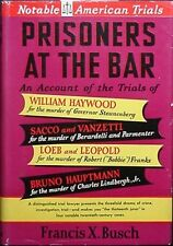 FAMOUS MURDER TRIALS, 1952 BOOK (LINDBERGH, GOVERNOR STEUNENBERG, BOBBIE FRANKS+