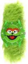 Sesame Street Oscar the Grouch Furry Slap Watch by Viva Time