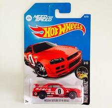 HOTWHEELS NISSAN SKYLINE GT-R (R34) - HOT