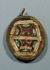 ANCIENT  RELIQUARY WITH   CRUCIS  D.N.J.C -8 RELICS.( A35)