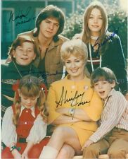THE PARTRIDGE FAMILY CAST AUTOGRAPHED 8x10 RP PHOTO BY 4  COME ON GET HAPPY