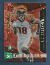 2011 PANINI ADRENALYN XL BENGALS A.J. GREEN SPECIAL CARD #S7