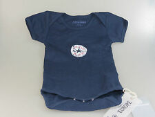 Body Converse Vintage Patch Baby Body 41117 DARK BLU SCURO + Nuovo + size 74