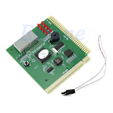Diagnostic 4Digit Card Motherboard Mainboard POST Tester PCI ISA For PC Computer