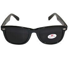 Stylische Sonnenbrille Wayfarer RBW78, Schwarz Gläser extra-dark