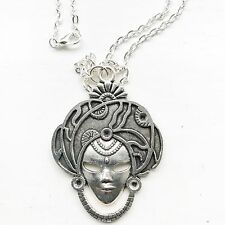The Fortune Teller Gypsy Gipsy Soothsayer Mask 24 Inches Necklace