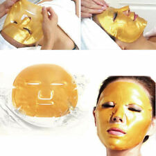 2x 24k GOLD Collagen Crystal FACE Mask Premium Eye Anti Ageing Wrinkle Skin Care