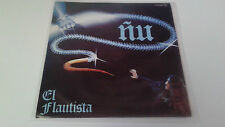 "ÑU ""EL FLAUTISTA"" 7"" SPANISH SINGLE G/EX BE/EX 1980 CON HOJA PROMOCIONAL"