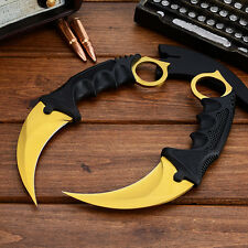 CSGO Knife Fade Karambit Cs Go Knives Tiger Tooth Doppler Counter Strike Blade