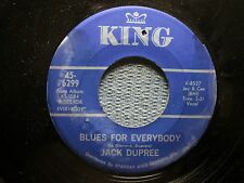 JACK DUPREE: Blues For Everybody/ Tongue Tied Blues (45) - Ships WORLDWIDE!