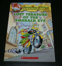 Lost Treasure of the Emerald Eye 1 by Geronimo Stilton (2004, Paperback) New