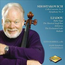 Shostakovich/Liadov: Cello Concerto No. 1, Symphony No. 9/The Musical Snuff Box,