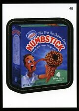2013 Topps Wacky Packages ANS 11 Series 11 Die-Cut Card #48 ~ Numbstick