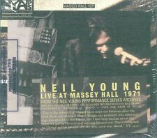 NEIL YOUNG LIVE AT MASSEY HALL 1971 SEALED CD NEW