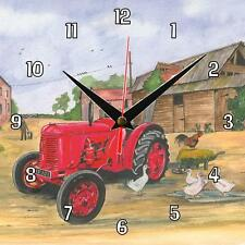 No.268 David Brown Cropmaster Sue Podbery Wall clock handmade gift present