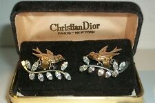 Rare CHRISTIAN DIOR Earrings by Mitchel Maer  A must have for any collector