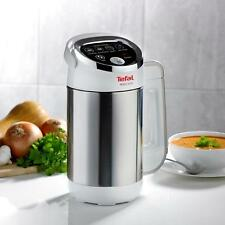 TEFAL bl841140 1,2 L AUTOMATICO facile Soup Maker 1000W recipe BOOK included-white
